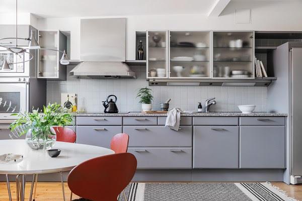 renovering av köksluckor